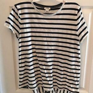 J. Crew Split Back T-shirt